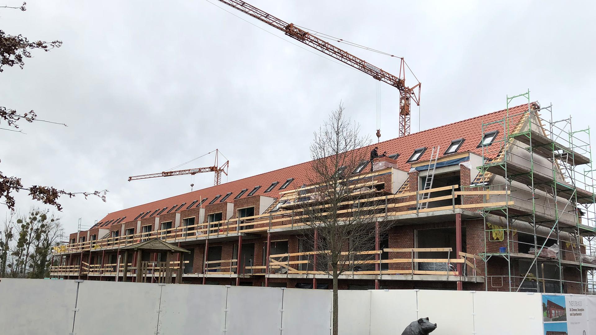 Rostocker Architekturbüro — UT-Architektenbüro — Hotel-Gut-Kump Seitenansicht Anbau